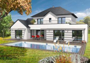 Maison style Moderne : peut-on faire plusieurs étages dans une maison moderne ?